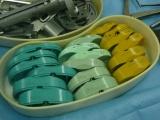 Umělý kolenní kloub - Testovací tibiální plata