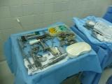 Kolenní kloub - Chirurgické nástroje