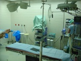 Kyčelní kloub - Operační stůl