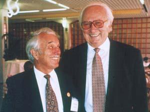 Prof. O. Čech a Prof. M. E. Müller