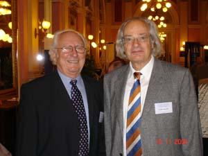 Prof. O. Čech a Prof. K. Zweymüller